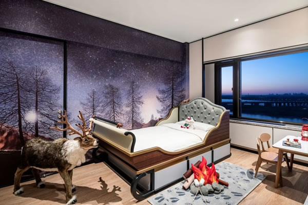 Family Themed Suite Winter Wonderland ©Shangri-La Hotels & Resorts