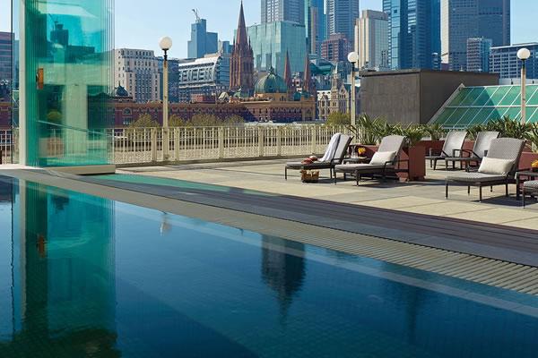 Jacuzzi/Pool ©The Langham, Melbourne