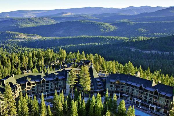 Aerial ®The Ritz-Carlton, Lake Tahoe