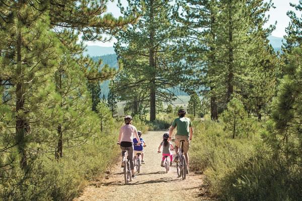Family Bicycle Tour ®The Ritz-Carlton, Lake Tahoe