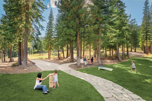 Outdoor Play Area ®The Ritz-Carlton, Lake Tahoe