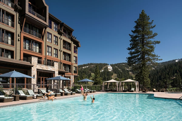 Outdoor Pool ®The Ritz-Carlton, Lake Tahoe