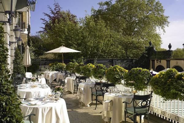 Terrace ©The Ritz London