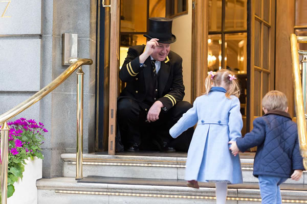 Kids Become Members Of The Exclusive Very Important Kid Program At The Iconic Ritz London
