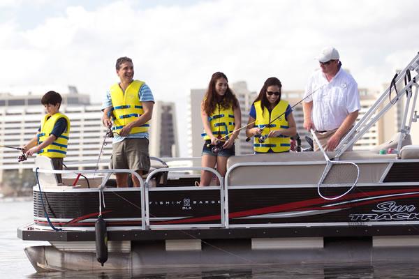 Family Fishing Excursion ©Walt Disney World® Resort