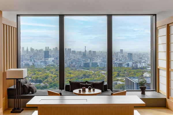 View from a Suite ©Aman Tokyo