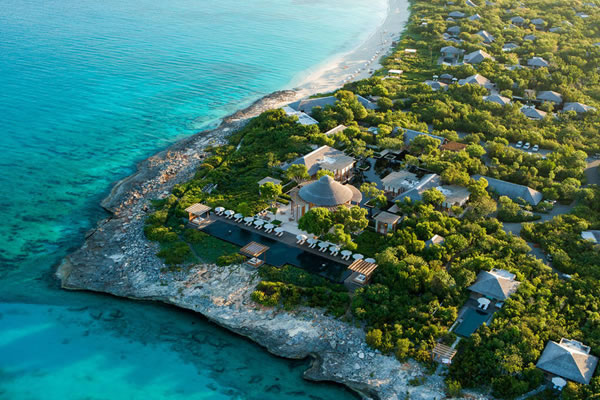 Aerial ©Amanyara, Turks & Caicos Islands