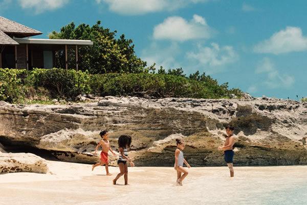 Kids on the Beach ©Amanyara, Turks & Caicos Islands