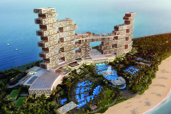 Aerial ©Atlantis The Royal, Dubai