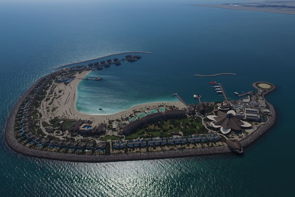 Resort Aerial ©Banana Island Resort Doha by Anantara
