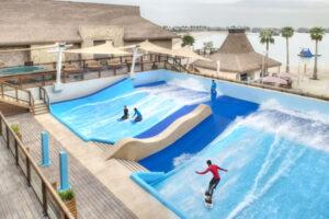 Surfing ©Banana Island Resort Doha by Anantara