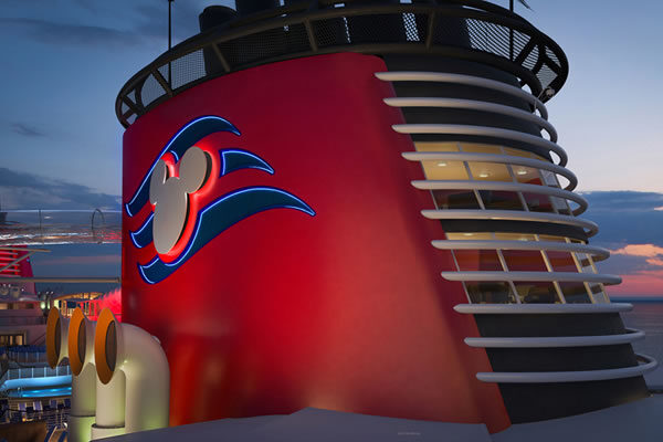 Suite in a Funnel ©Disney Cruise Line