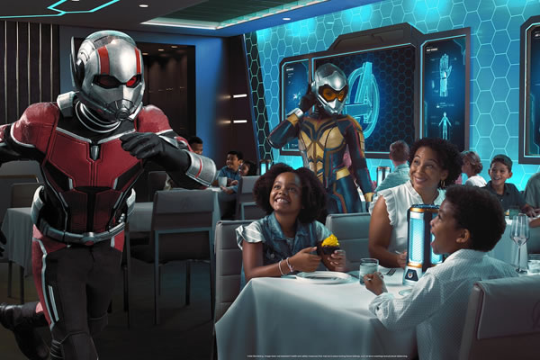 Discover The Most Ambitious Dining Experience Ever On Board Disney's All-New Cruise Ship Wish