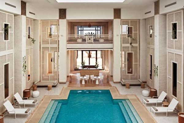 Indoor Pool ©Fairmont Royal Palm Marrakech