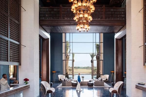 Lobby ©Fairmont Royal Palm Marrakech