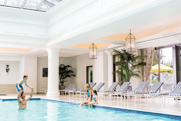 Indoor Family Pool ©Four Seasons Hotel Westlake Village
