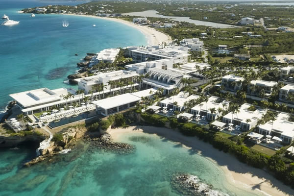 Aerial ©Four Seasons Resort and Residences Anguilla