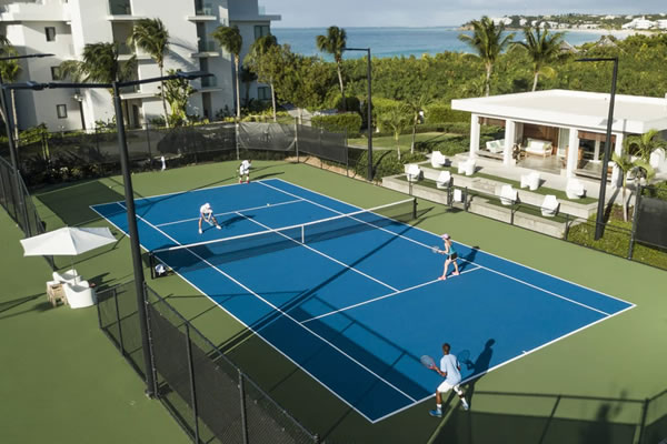 Tennis Court ©Four Seasons Resort and Residences Anguilla