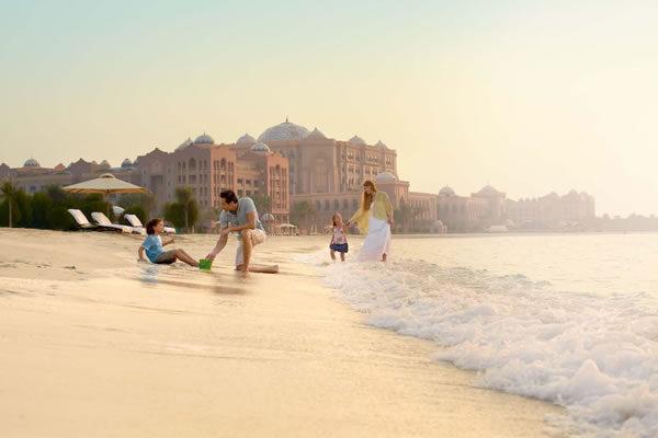 Family on the Beach - ©Mandarin Oriental