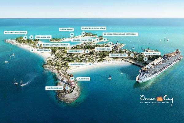Ocean Cay ©MSC Cruises