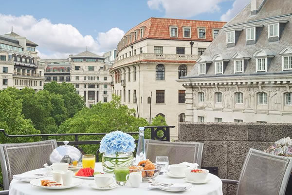 Balcony at Terrace Suite ©One Aldwych London