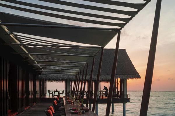 Terrace at Tapasaki ©One&Only Reethi Rah, Maldives