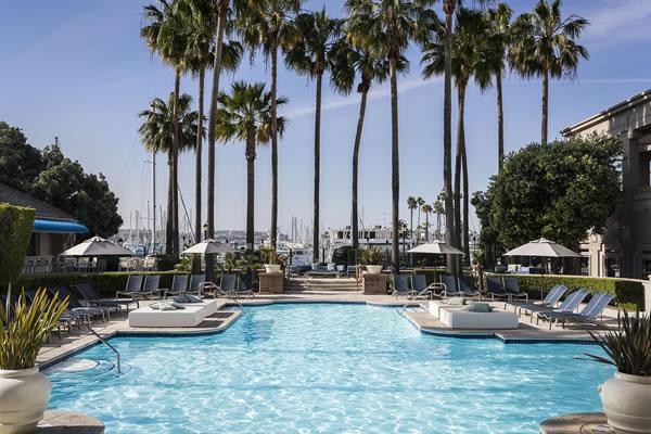 Outdoor Pool ©The Ritz-Carlton, Marina del Rey