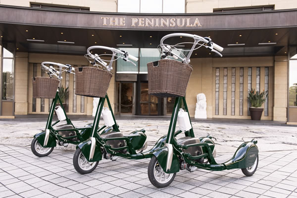The Pencycle ©The Peninsula Tokyo