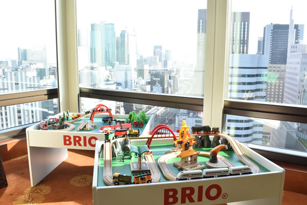 Hop Aboard the Train with Your In-Room BRIO® Railway Set at The Peninsula Tokyo