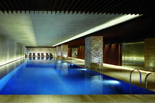Indoor Pool with underwater music  ©The Ritz-Carlton, Tianjin