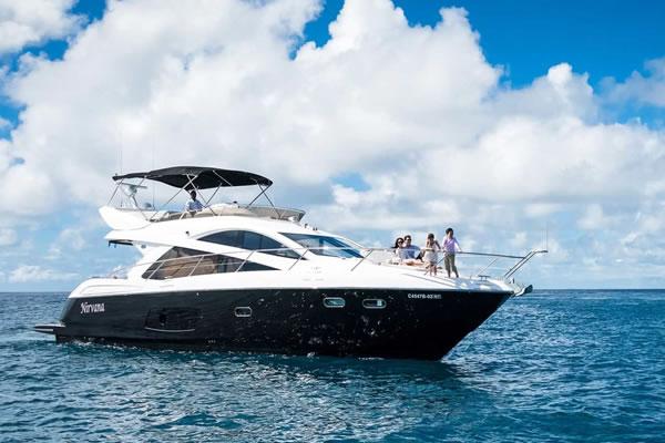 Luxury Yacht ©Anantara Dhigu Maldives
