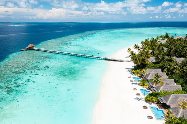 Aerial ©Baglioni Resort Maldives