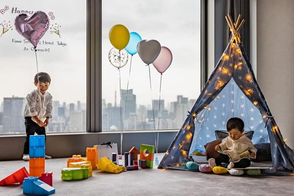 Kids ©Four Seasons Hotel Tokyo at Otemachi