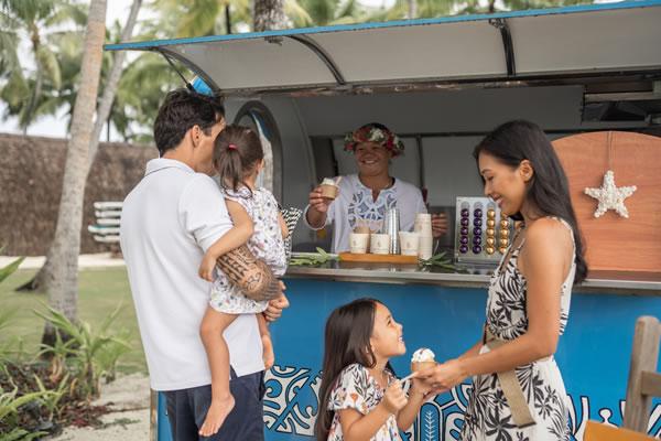 Time for Ice Cream ©Four Seasons Resort Bora Bora