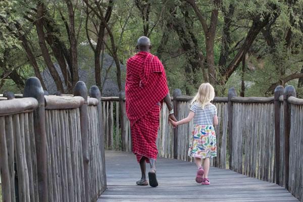 Morning Walk with Maasai Guide ©Four Seasons Safari Lodge Serengeti