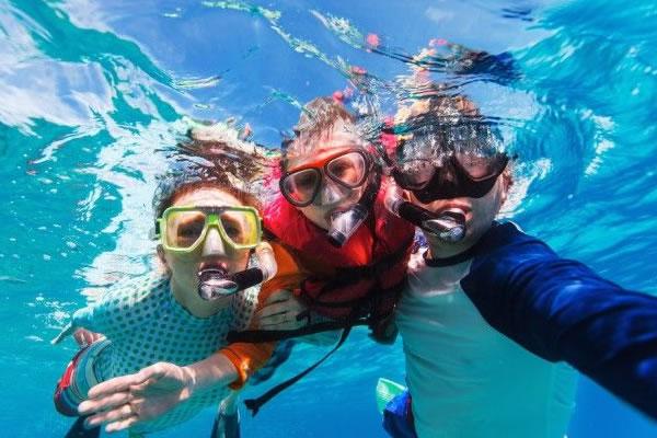 Snorkel Kids ©InterContinental Maldives