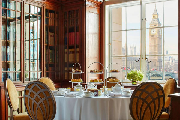 Afternoon Tea at the Library ©London Marriott Hotel County Hall