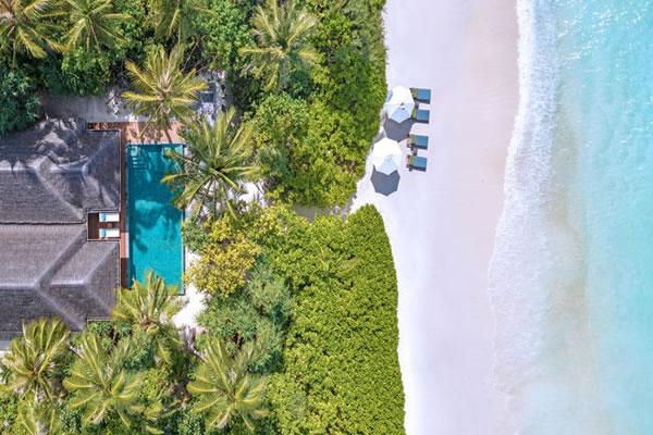Two-Bedroom Family Beach Pool Villa ©Anantara Kihavah Maldives Villas