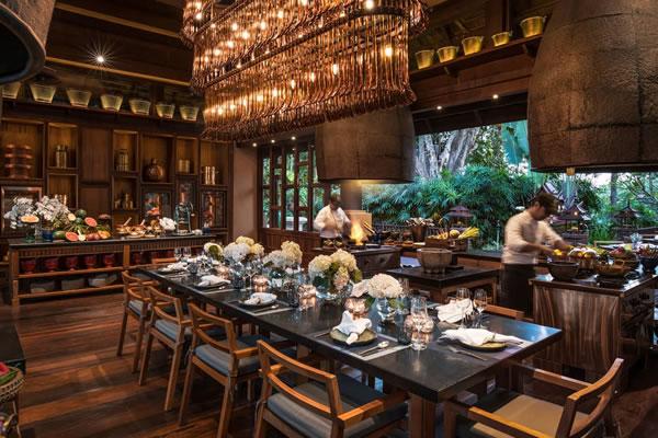 Rim Tai Kitchen ©Four Seasons Resort Chiang Mai