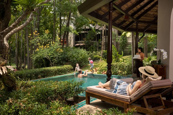 Two Bedroom Residence with Plunge Pool ©Four Seasons Resort Chiang Mai